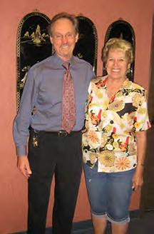 Carol Matthews and Robert South, St Francis Manor