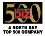 Nort Bay Biz Magazine top 500 Logo